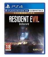 Resident Evil 7: Biohazard Gold Edition (PS4) (NEU & OVP) (UNCUT) (Blitzversand)