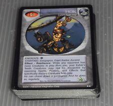 Magi-Nation Kybar's Teeth Assorted Card Lots Playset (52 cards) #5