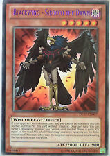 YUGIOH BLACKWING - SIROCCO THE DAWN DL17-EN007 DUELIST LEAGUE PURPLE RARE