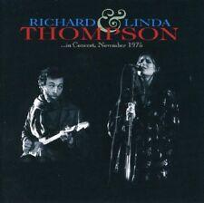 Richard & Linda Thompson In Concert 1975 Live CD NEW SEALED Folk