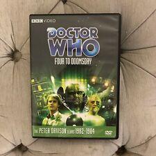 Doctor Who Peter Davison Story 118 Four To Doomsday DVD BBC
