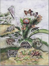 SOUTH AFRICA 2004 FLORA & FAUNA OF TABLE MOUNTAIN SHEET COMPLETE SET MNH 0664LB