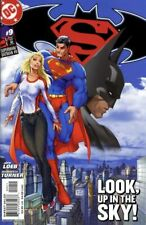SUPERMAN BATMAN #9 NM, Michael Turner c, DC Comics 2004 Stock Image