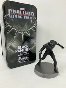 Black Panther Heavyweights Die-Cast Figurine In collectible Tin Marvel