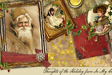 Christmas Santa Claus Mobile Friendly Responsive Ebay Listing Auction Template