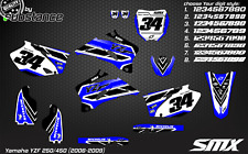 YZF 250 450 MX motocross graphics decals kit YZ450F stickers 2006 2007 2008 2009