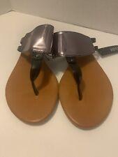 Apt.9 Metallic Thong Sandals Flip Flops Shoes size Medium 7-8