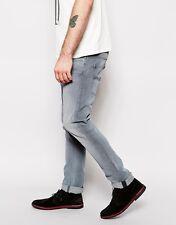 Men's Nudie Tape Ted 111608 Organic Stone Black Stretch Jeans   Size: W29 L32
