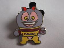 Disney's Figment the Dragon Epcot Mascot Hidden Mickey  Pin  Badge 3 OF 5