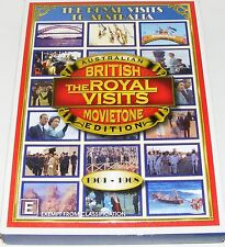 A TIME TO REMEMBER-- THE ROYAL VISITS TO AUSTRALIA--1901-1968---(Dvd 4 Disc Set)