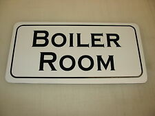 BOILER ROOM Metal Sign 4 Costume Cosplay Girls Clubware S&M Prop