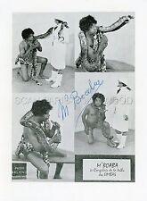 M'BOABA 60s VINTAGE PHOTO ORIGINAL CATCH LUTTE WRESTLING LUCHA BEEFCAKE