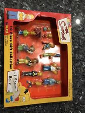 THE SIMPSONS 10 Piece Gift Collection +1 Bart Mini Figure Set RePlay! Playmates