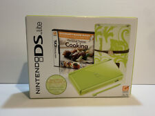 Nintendo DS Lite Personal Trainer-Cooking- Special Edition Lime Green Unopened
