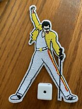 Queen Freddie Mercury Iron-on Embroidered Hard Rock Band Patch