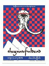 Grateful Dead Postcard AOR 4.230 1979 Jan 20 Shea's Performing Acts Center