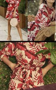 H&M JOHANNA ORTIZ FLOUNCE DRESS  SIZE 20 SOLD OUT BNWTBLOGGER