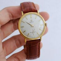 CLASSIC 1964' OMEGA REF 121.002 GOLD PLATED MANUAL WIND AUTHENTIC GENTS WATCH