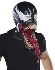 Venom Spider Man Adult Size FULL Overhead Latex Costume Mask Marvel Comics