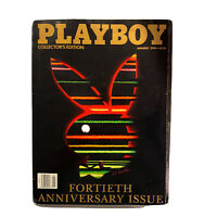 PLAYBOY Back Issue Magazine Vintage Centerfold January 1994 40th Anniversary