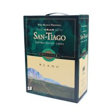 GRAN SAN-TIAGO Blanc Weißwein aus Spanien 300cl Bag in Box BiB 13% vol