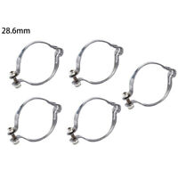 25.4mm// 28.6mm// 31.8mm// 34.9mm Cable Clips Pack Of 5 Hose Clip Guide Organizer