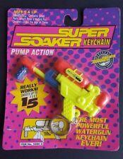 SUPER SOAKER MDS KEYCHAIN VINTAGE FACTORY SEALED LARAMI 1993 RARE