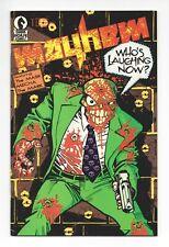Mayhem #1 (Dark Horse 1989) ~ Early Appearance of The Mask (Big Head) ~ FN-