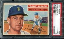 1956 Topps Baseball: #84 Babe Birrer--Detroit Tigers PSA 6