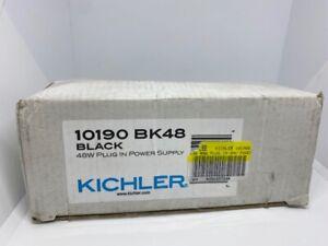 KICHLER 10190 BK48 BLACK 48W PLUG IN POWER SUPPLY -FREE SHIPPING-