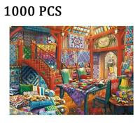 1000 Piece Jigsaw Puzzle Living Room Puzzle For Adults DIY F5S4 Educational O6C7