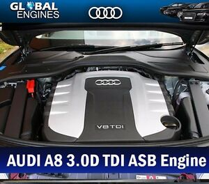 AUDI A8 Engine 3.0D Diesel ASB Engine Code Supply & Fit