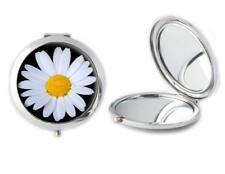 Daisy Flower Compact Mirror Ideal Ladies Ideal Birthday Gift T143