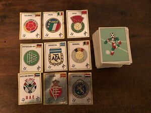 PANINI ALBUM ITALIA 90 LOT 280 STICKERS original AUTOCOLLANTS CROMOS