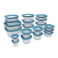 Rubbermaid 38-Piece Flex & Seal Food Storage Set in Aqua