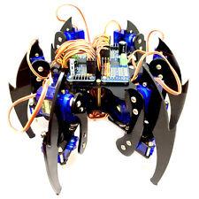 DIY Hexapod Spider robot 18 DOF 6 leg Arduino Laser Cut Chassis