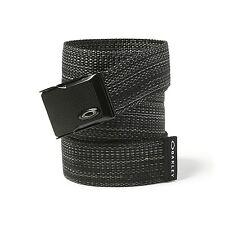 Genuine OAKLEY GOLF Web Belt-nero 96173-01K
