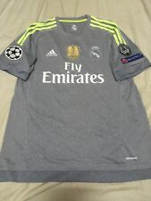 dfa84560aed 100% Official Authentic Cristiano Ronaldo Real Madrid 15 16 Away Jersey  Original