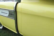 CHEVY CAMEO GMC 1955 56 57 58 side fiberglass panels to brackets & bed BOLT KIT