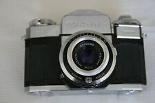 Zeiss Ikon Contaflex 35mm Film Camera in original Leather Case – Very Good Condi