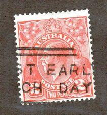 Australia Scott 28 - King George V 2 Pence.  Used. #02 AUS28c