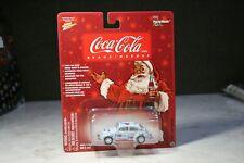 Johnny Lightning 1965 VW Beetle Coca-Cola White Lightning / Santa Series / RARE