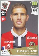 342 MAXIME LE MARCHAND OGC NICE - STADE RENNAIS.FC STICKER PANINI FOOT 2018