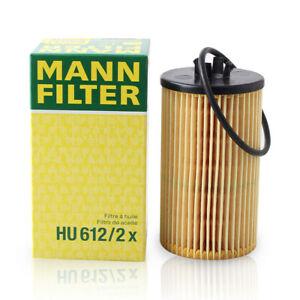 Mann-filter Oil Filter HU612/2x fits HOLDEN ASTRA AH 1.8 i