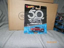 1 2018 HOT WHEELS 1:64 50th ANNIVERSARY FAVORITES 1956 CHEVY  1/10