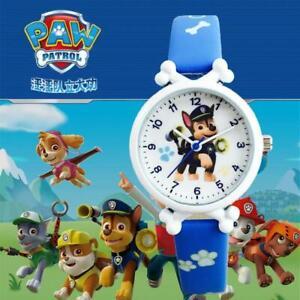 3D Paw Patrol Watches Wrist Watch Analogue Kids Girl Boys Children Cartoon