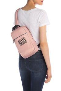 Madden Girl Booker School Backpack Pink