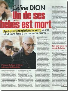 Coupure de presse Clipping 2010  - Céline DION - (2 page)