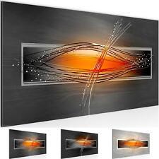 Wandbild XXL Modern Wohnzimmer - Abstrakt  - Schlafzimmer Bilder Kunstdruck 3D