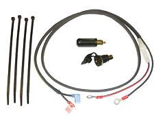 "12V Accessory Socket (DIN/Hella type) 1.2m (48"") Loom + Plug - Glass Fuse"